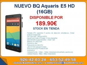 Bq Aquaris 16 Gb en tienda